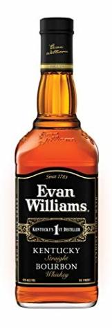 Evan Williams Black Bourbon Whiskey (1 x 0.7 l) - 1