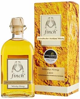 finch Whiskydestillerie Whisky Honig (1 x 0.5 l) - 1