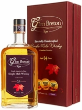 Glen Breton Rare 14 Years Old Canada's First Single Malt Whisky mit Geschenkverpackung (1 x 0.7 l) - 1