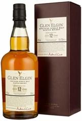 Glen Elgin 12 Jahre Speyside Single Malt Scotch Whisky (1 x 0.7 l) - 1