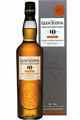 Glen Scotia 10 Jahre Peated 46.0% 0,7l - 1