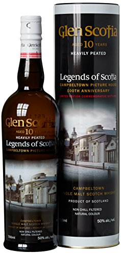 Glen Scotia 10 Years Old Legends of Scotia Limited Edition mit Geschenkverpackung  Whisky (1 x 0.7 l) - 1