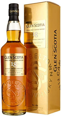 Glen Scotia 18 Years Old Double Cask Single Malt Scotch Whisky (1 x 0.70 l) - 1
