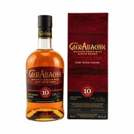 Glenallachie - Port Wood Finish - 10 year old Whisky - 1