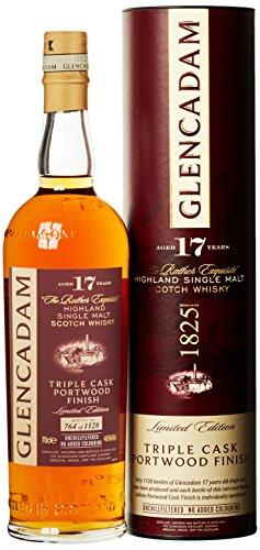 Glencadam Portwood Finish 17 Jahre Triple Cask Single Malt Whisky (1 x 0.7 l) - 1