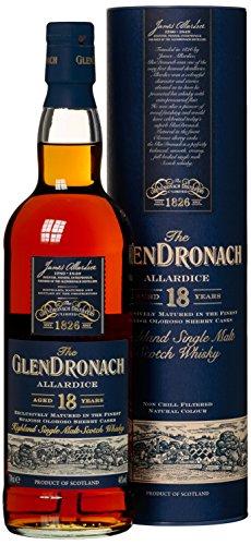 Glendronach 18 Years Old Allardice Oloroso mit Geschenkverpackung Whisky (1 x 0.7 l) - 1