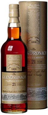 Glendronach Parliament 21 Years Whisky (1 x 0.7 l) - 1