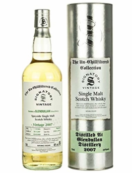 Glendullan 2007-12 Jahre - Signatory Vintage Un-Chillfiltered Collection Single Malt Whisky - 1
