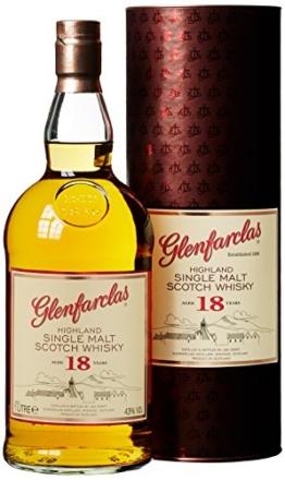 Glenfarclas 18 Years Old mit Geschenkverpackung  Whisky (1 x 1 l) - 1