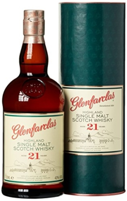 Glenfarclas 21 Jährige Single Malt Whisky (1 x 0.7 l) - 1