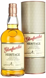 Glenfarclas Heritage Speyside Single Malt Scotch Whisky mit Geschenkverpackung (1 x 0.7 l) - 1