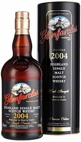 Glenfarclas Highland Single Malt Scotch Whisky Cask Strength Premium Edition 2004 (1 x 0.7 l) - 1