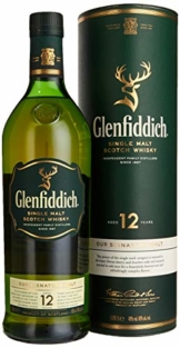 Glenfiddich 12 Jahre Single Malt Whisky (1 x 1 l) - 1