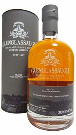 Glenglassaugh PEATED Virgin Oak Wood Finish Whisky (1 x 0.7 l) - 1