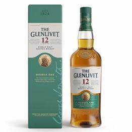 Glenlivet 12 Jahre Single Malt Scotch Whisky mit Geschenkverpackung (1 x 0.7 l) - 1