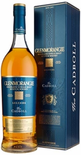Glenmorangie The CADBALL Legends mit Geschenkverpackung Whisky (1 x 1 l) - 1