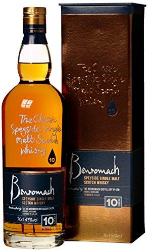 Gordon und MacPhail Benromach Whisky 10 Jahre mit Geschenkverpackung (1 x 0.7 l) - 1