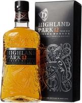 Highland Park 12 Jahre Viking Honour Single Malt Scotch Whisky (1 x 0.7 l) – vollmundiger, rauchiger Geschmack, der Whisky mit der Wikinger-Seele - 1