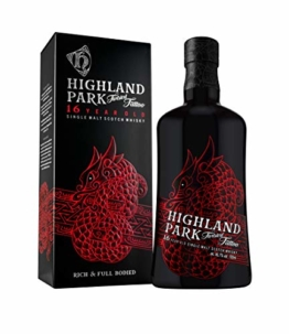 Highland Park 16 Jahre Twisted Tattoo Single Malt Scotch Whisky (1 x 0.7 l) – Limitierter Premium Whisky, mit leichter Torfnote - 1