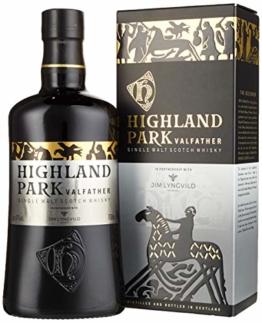Highland Park Valfather Single Malt Scotch Whisky (1 x 0.7 l) – der intensive und rauchige Whisky, Teil 3 und Vollendung der Viking Legends Trilogie - 1