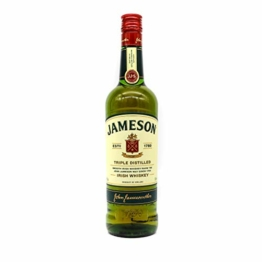 Jameson Original Irish Whiskey / Blended Irish Whiskey mit Jameson Single Irish Pot Still Whiskeys und Grain Whiskeys / 1 x 0,7 L - 1