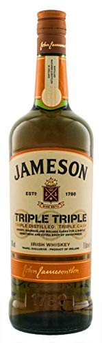 Jameson Triple Triple Irish Whiskey 1,0L Whisky (1 x 1.0 l) - 1