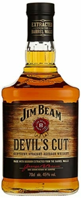 Jim Beam Devil's Cut 90 Proof Kentucky Straight Bourbon Whisky (1 x 0.7 l) - 1