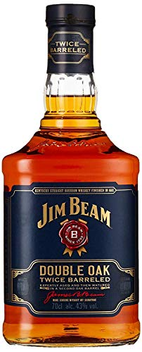 Jim Beam Double Oak Bourbon Whiskey (1 x 0.7 l) - 1