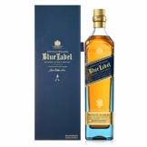 Johnnie Walker Blue Label Blended Scotch Whisky – Exklusiver, weicher & würziger Blended Whisky, wie kein anderer – In edler Geschenkverpackung – 1 x 0,7l - 1