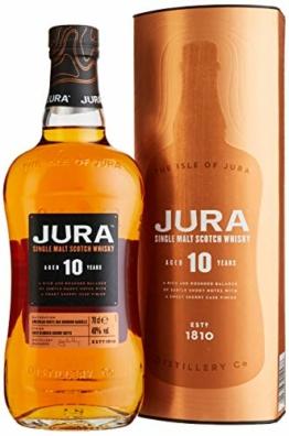 Jura 10 Years Old Single Malt Scotch Whisky mit Geschenkverpackung (1 x 0.7 l) - 1