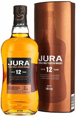 Jura 12 Years Old Single Malt Scotch Whisky mit Geschenkverpackung (1 x 0.7 l) - 1