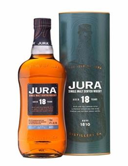 Jura 18 Years Old Single Malt Scotch Whisky mit Geschenkverpackung (1 x 0.7 l) - 1