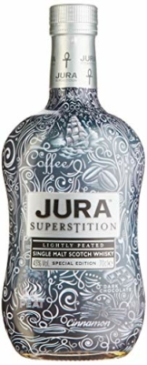 Jura SUPERSTITION Single Malt Scotch Whisky TATTOO Special Edition 43% Vol. 0,7 l - 1