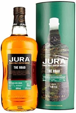 Jura THE ROAD Single Malt Scotch Whisky mit Geschenkverpackung (1 x 1 l) - 1