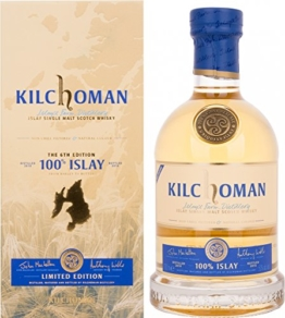 Kilchoman Islay The 6th Edition mit Geschenkverpackung Whisky (1 x 700 ml) - 1