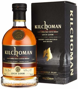 Kilchoman LOCH GORM Sherry Cask Matured mit Geschenkverpackung 2018 Whisky (1 x 0.7 l) - 1