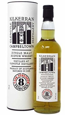Kilkerran - Cask Strength 2nd Edition - 8 year old Whisky - 1
