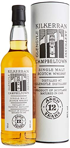 Kilkerran Glengyle 12 Years Old Single Malt Scotch Whisky mit Geschenkverpackung (1 x 0.7 l) - 1