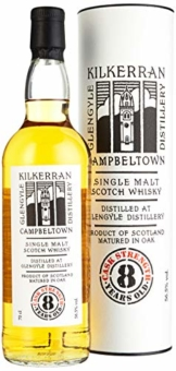 Kilkerran Glengyle 8 Years Old CASK STRENGTH Whisky (1 x 0.7 l) - 1