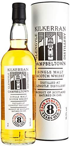 Kilkerran Glengyle 8 Years Old CASK STRENGTH Whisky (1 x 0.7 l) - 1
