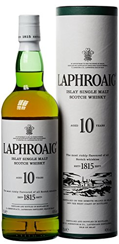 Laphroaig 10 Jahre Islay Single Malt Scotch Whisky 10 Jahre, Standard (1 x 0.7 l) - 1