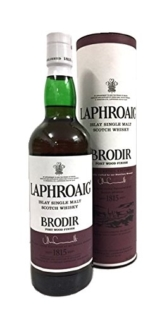 Laphroaig Brodir Port Wood Finish Single Malt Scotch Whisky 48% 0,7l Flasche - 1