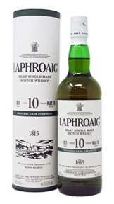 Laphroaig - Cask Strength Batch 011-10 year old Whisky - 1