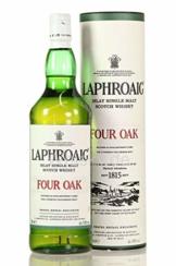 Laphroaig Four Oak Whisky mit Geschenkverpackung (1 x 1 l) - 1