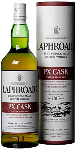 Laphroaig PX Cask mit Geschenkverpackung  Whisky (1 x 1 l) - 1