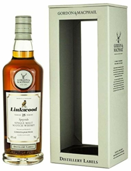 Linkwood - Distillery Labels - 25 year old Whisky - 1