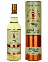 Mannochmore 2007-11 Jahre - Signatory Vintage - Single Malt Whisky - 1