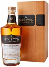 Midleton Very Rare Irish Whiskey 2019 – Limitierter Whiskey mit Gravur von Brien Nation – Edle Spirituose inkl. Holzbox - ideales Geschenk & Sammlerstück – 1 x 0,7 L - 1
