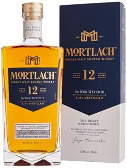 Mortlach 12 Jahre Single Malt Whisky (1 x 0.7 l) - 1