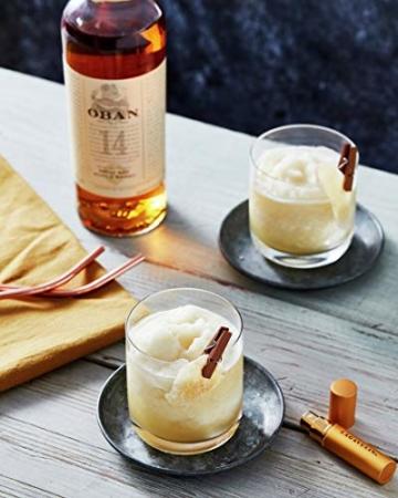 Oban Highland Single Malt Scotch Whisky – 14 Jahre gereift – Rauchig-torfig mit süßen und würzigen Noten – 1 x 0,7l - 3